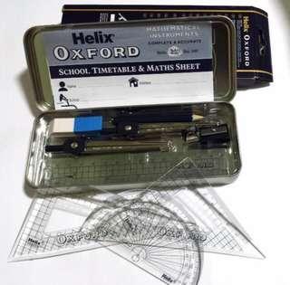[INSTOCK] Helix Oxford Mathematical Instrument Set