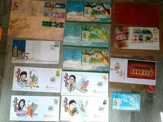香港郵票 紀念封
