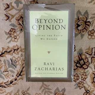 Ravi Zacharias - Beyond Opinion ( rzim )