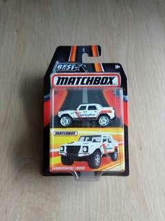 Matchbox Best of Matchbox Lamborghini LM002 (last piece)