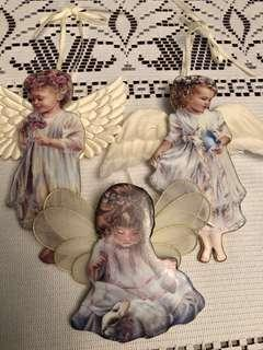 Heavens little Angels ornaments by Donna Brooks