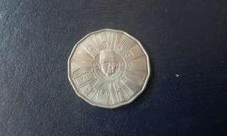 Syiling Lama $1 RMK-3 (1976)