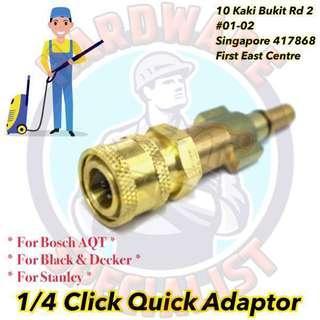 1/4 Quick Release Adaptor (Bosch AQT, Black & Decker, Stanley)