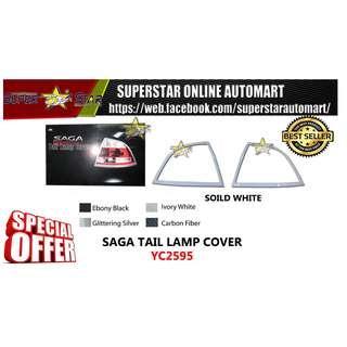 YC2595 SAGA TAIL LAMP COVER SOILD WHITE