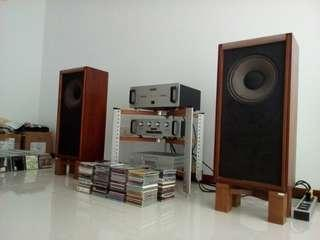 "Tannoy charthworth hpd 12"" ins full range speaker with solid spk stand"
