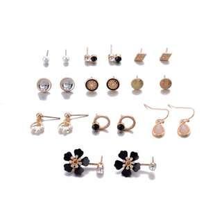 Retro earring set 1023