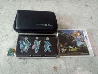 2nd Nintendo 3DS XL + MH4U Game