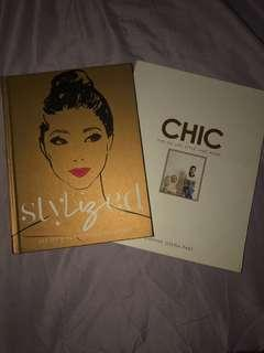 Lot of 2 books Stylized and Chic