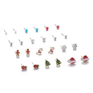 Xmas earring pack 1026