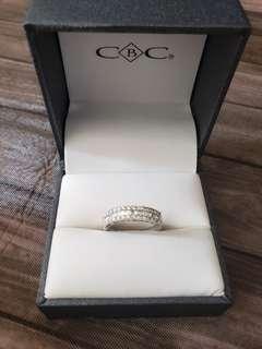 全新18k鑽石戒指50份