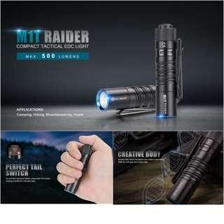Olight M1T Raider Compact Flashlight For Everyday Carry
