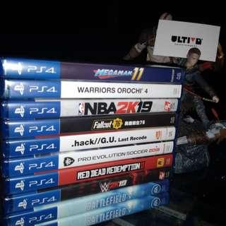 PS 4 NEW GAMES