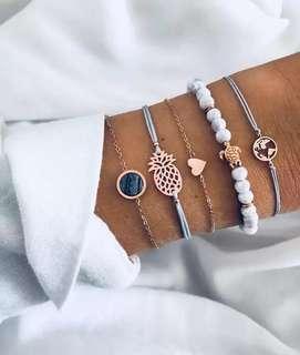 Tropical bracelet set 2011