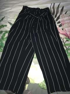 Zara striped pants