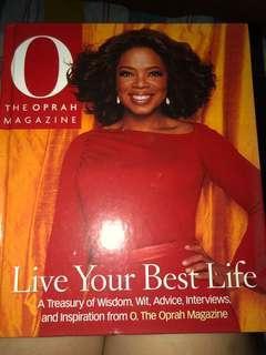 the Oprah Magazine coffee table book