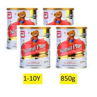 Isomil Plus For 1 To 10 Years Old (850g) EXP:06/2020