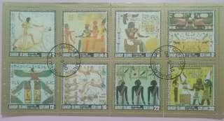 Egypt stamp (set of 8 pieces)