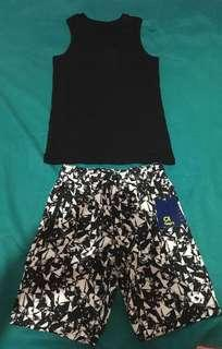 Brandnew Gap short and Skate city sleeveless shirt