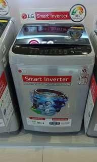 Kredit Masin Cuci LG Top Loading. Bunga 0%