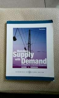 🚚 Matching Supply With Demand:An Introduction to Operation Management (Third Edition) 原文書