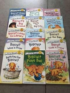 I can read- Biscuit- 19 books