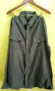 Kemeja Denim Big Size