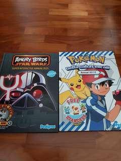 Hard Cover - Pokemon & Star Wars