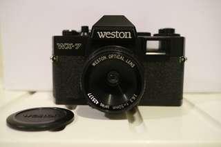 🚚 Wesrton WX-7 底片相機📷 回片轉軸斷掉