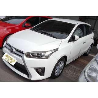 2014 豐田 YARIS 1.5 全額貸 可超貸