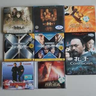 Lord of The Rings/Mummy Returns/Jackie Chan/Chow Yun Fatt/周星驰   Movies