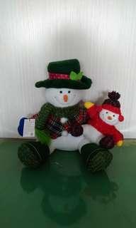 🚚 聖誕雪人娃娃