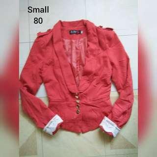 Red-Pink Blazer