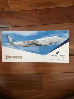 Lord of the Rings - Air New Zealand Postcard (Vintage)