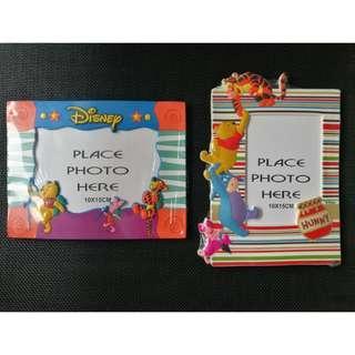"2 for S$ 10 Disney Winnie the Pooh 6"" Photo Frame"