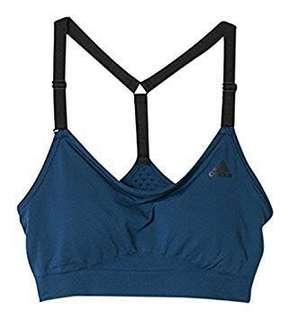 BN Authentic Adidas Seamless Bra in Dark Teal