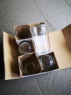 6pcs Royalex Drinking Glass