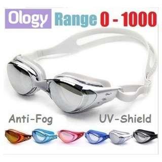db7e3293f9 0-1000 Degree Prescription Swimming Goggles Underwater Degree Len Glasses  Googles for Shortsighted Or