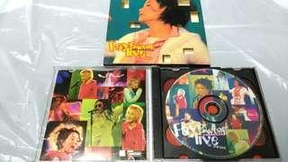 王菲演唱會,双CD,碟靓。