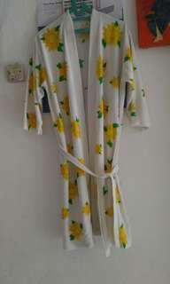 Handuk kimono bunga matahari (free ongkir jabodetabek)