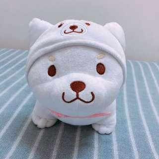 🚚 超萌超可愛小白柴犬造型玩偶娃娃