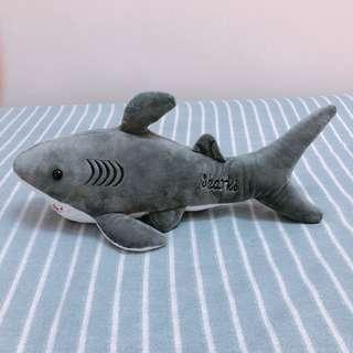 🚚 INS風舒適柔軟Shark深海大鯊魚娃娃玩偶