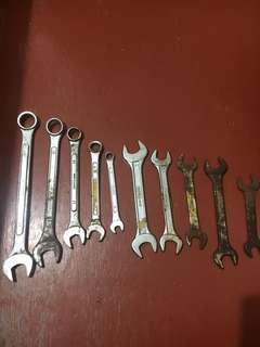 Various type of Wrench