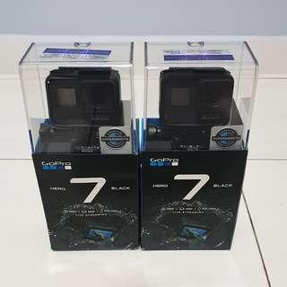 GoPro Hero 7 Black Brand New Sealed in Box 1 year local warranty