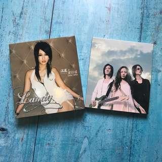 🚚 F.I.R飛兒樂團-同名專輯。溫嵐-愛回溫新歌加精選2CD