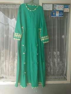 Gamis balotely,free hijabnya ya😘😘