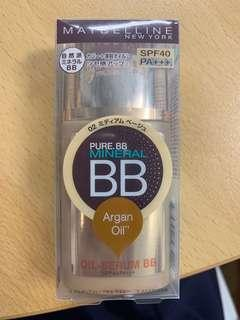 Maybelline 02 BB cream SPF40+++