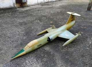 中華民國空軍F-104戰鬥機模型—古物舊貨、早期國軍相關收藏
