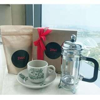 🚚 *Free Delivery Promo* Fresh Ground Coffee - 2Hei Christmas Edition 2018 🎄