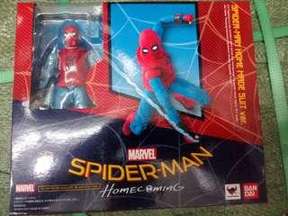 SPIDERMAN SHF HOMECOMING HOMEMADE SUIT