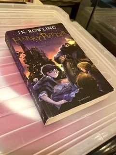 Harry Potter 神秘的魔法石英文版